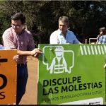 """Programa """"100 Puentes"""": Passalacqua inauguró en Oberá las obras sobre el arroyo Mbotaby"""